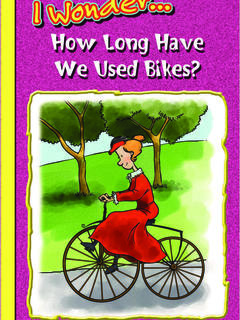 How Long Have We Used Bikes?