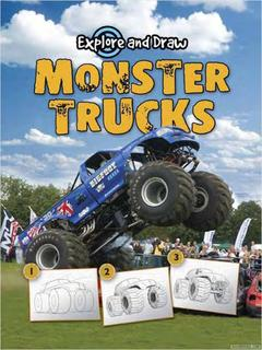 Explore and Draw Monster Trucks