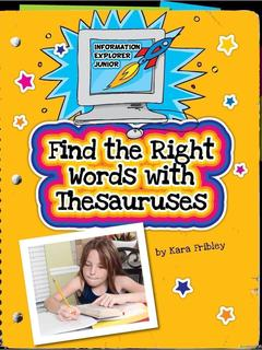 Find the Right Words with Thesauruses