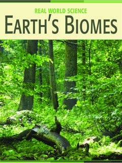 Earth's Biomes