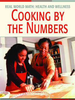 Cooking by the Numbers