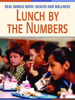 Lunch by the Numbers