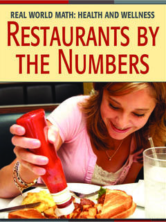 Restaurants by the Numbers