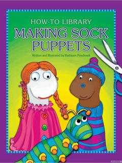 Making Sock Puppets