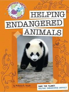 Save the Planet: Helping Endangered Animals
