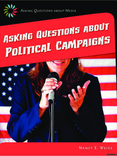 Asking Questions about Political Campaigns